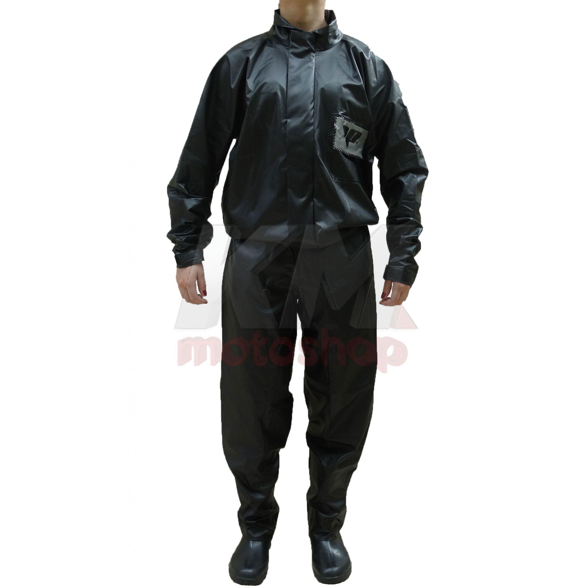effbfd3e7f7 Capa De Chuva Para Motoqueiro Blusa E Calça Pvc Impermeavel Pantaneiro