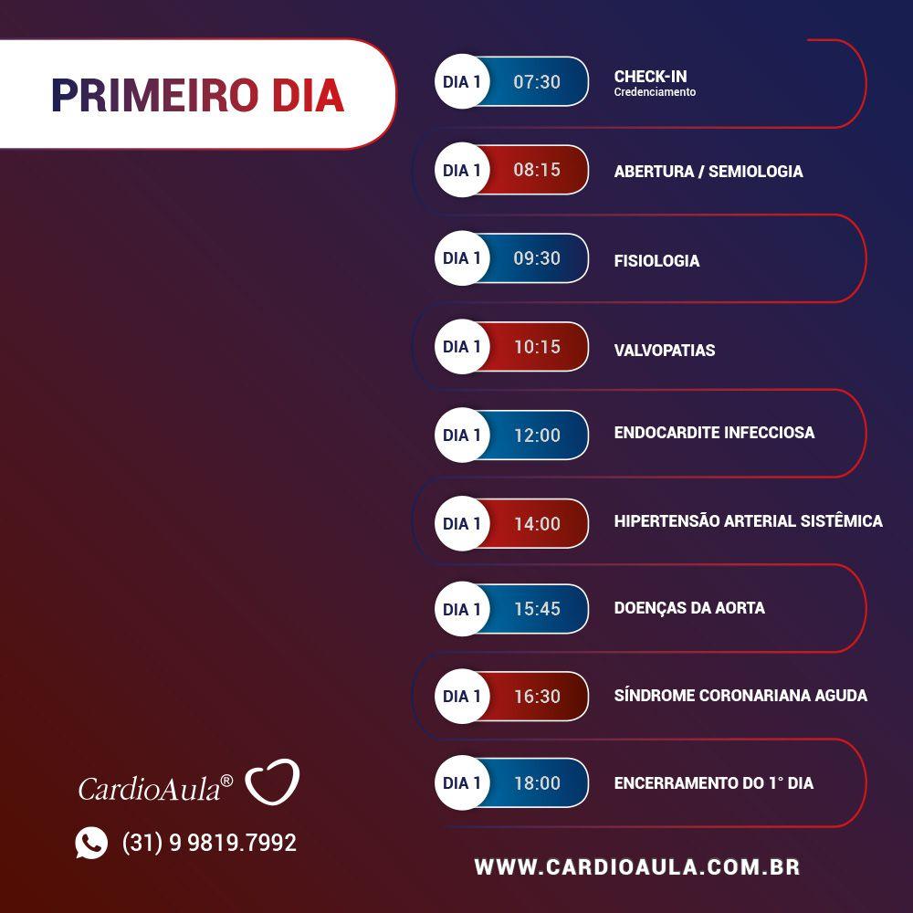 Presencial CardioAula® Preparação para o Título de Especialista em Cardiologia - TEC da SBC em São Paulo
