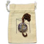 Amuleto Rúnico Conexão com o Divino Ametista - Ansuz