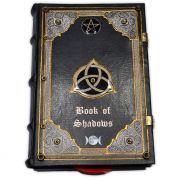 Book Of Shadows Encadernação Medieval 250pg. - Triquetra