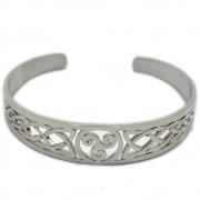 Bracelete Triskle - de Aço
