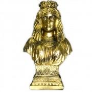 Busto de Ísis, Deusa da Magia e do Amor - Dourado