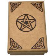 Caixa de Tarô - Pentagrama mod. 2