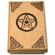 Caixa de Tarô - Pentagrama mod. 3