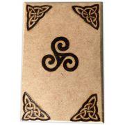 Caixa de Tarô - Triskle mod. 1