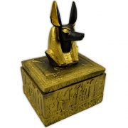 Caixa Egípcia Anubis