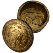 Caixa Egípcia Redonda
