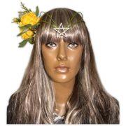 Circlet Estrela com Flores Amarela