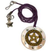 Colar Pentagrama Madrepérola