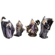 conjunto de 4 bruxinha