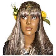 Coroa de Flores Pedra Amarela