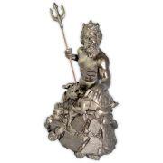 Deus Poseidon - prata