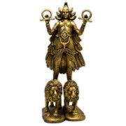 Deusa Ishtar do Amor e do Submundo - Dourado