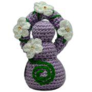 Deusinha de Crochê - Lilás
