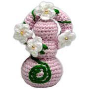 Deusinha de Crochê - Rosa Claro