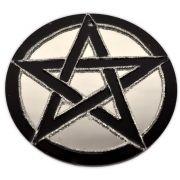 Espelho Pentagrama preto