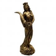 Fortuna, Deusa da Prosperidade e do Destino - Dourada