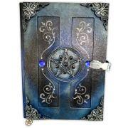 Grimório Tam. 31x22cm 300 pág. (sem pautas) - Pentagrama Azul