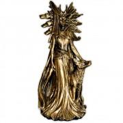 Hécate, Deusa Tríplice dos Céus, da Terra e do Submundo - Dourado