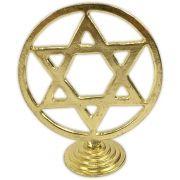 Hexagrama para Altar - Dourado
