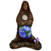 Deusa Gaia - em argila