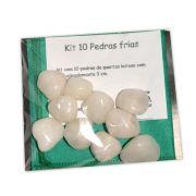 Kit 10 pedras - Quartzo Branco