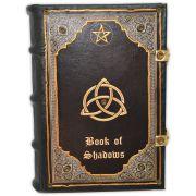 Livro das Sombras - Encadernação Medieval 400fls (1)