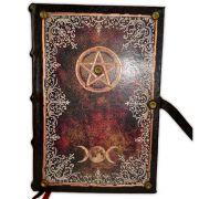 Livro das Sombras 25x17cm - Encadernação Medieval 200fls (7)