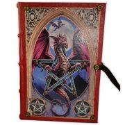Livro das Sombras - Encadernação Medieval 200fls (9)