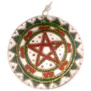 Mandala Pentagrama 10cm