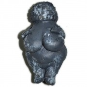 Mini Vênus de Willendorf - Cinza