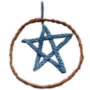 Móbile Pentagrama - Azul