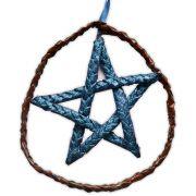 Móbile Pentagrama - Azul Índigo