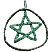 Móbile Pentagrama - Turquesa