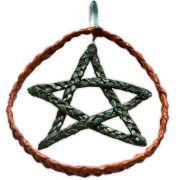 Móbile Pentagrama - Verde Musgo