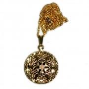 Aromatizador Pessoal Mandala - Dourado