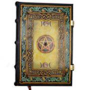 Novo Book Of Shadows Encadernação Medieval 250pg. - modelo 1