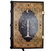 Novo Book Of Shadows Encadernação Medieval 250pg. - modelo 4