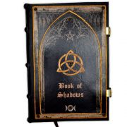 Book Of Shadows Encadernação Medieval 250pg. - modelo 6