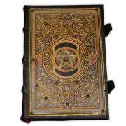 Book Of Shadows Encadernação Medieval 250pg. - Pentagrama 2