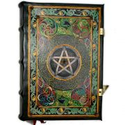 Book Of Shadows Encadernação Medieval 900pg. - Pentagrama