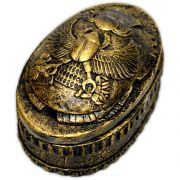 Caixa Egípcia Elíptica - Escaravelho