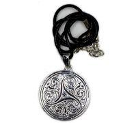 Colar - Mandala Triskle, Sabedoria e Tríades da Vida