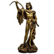 Deus Apolo do Oráculo de Delfos - Dourado