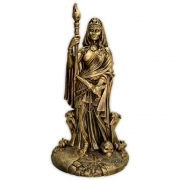 Deusa Hécate do Submundo - Dourado