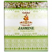 Incenso Cone de Massala Jasmim - Energia de Equilíbrio (para incensário cascata)