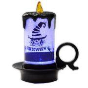 Luminária Vela Halloween com LED - modelo 4