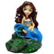 Sereia, Ondina Elemental da Água - Azul pequeno