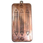 Pingente de Parede Gráfico Luxor - Cobre Velho