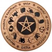 Roda do Ano 35cm - Pentagrama mod. 2